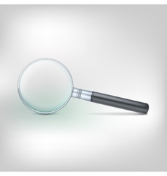 Magnifying glass photo-realistic vector image