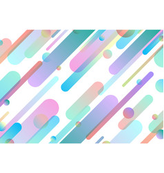 Abstract pastel colorful gradient line pattern vector