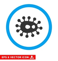Bacilla eps rounded icon vector