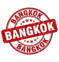 Bangkok stamp vector