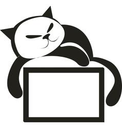 Cat 04 vector image