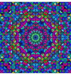 Color Abstract Geometric Pattern vector image