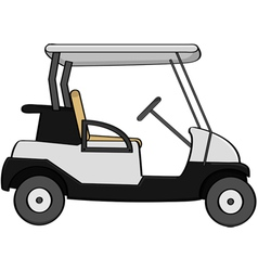 Golf cart vector