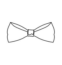 Hipster retro bow tie vintage elegant vector