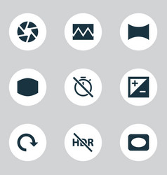 Image icons set includes icons such as angle vector