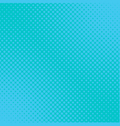 light blue geometric halftone dot pattern vector image