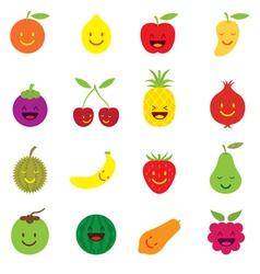 Mixed Fruits Character Cartoon vector