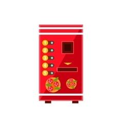 Pizza Vending Machine Design vector