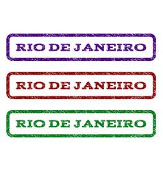 Rio de janeiro watermark stamp vector