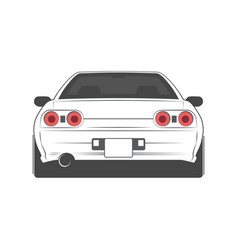 sport japan car vector image