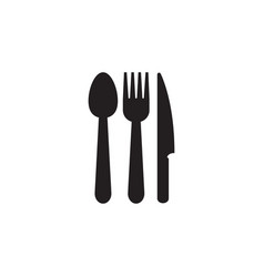 utensil icon graphic design template vector image