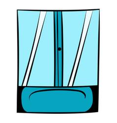 shower icon cartoon vector image