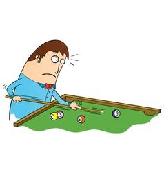 Billiard time vector