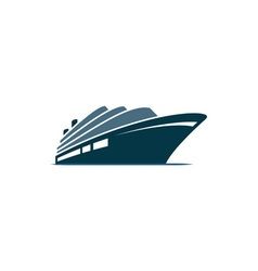 Cruise-ship vector