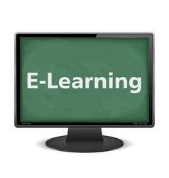 E-Learning vector