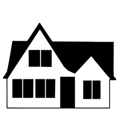 High quality original trendy Icon house vector image