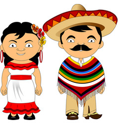 mexicans vector image