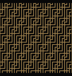 Seamless geometric pattern by stripes line vector