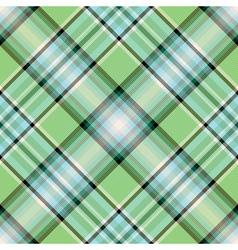Diagonal green pattern vector image vector image