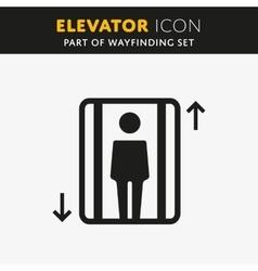 Elevator Icon vector image vector image