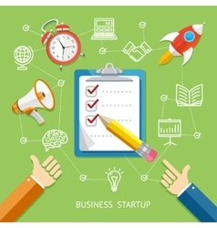 Business Startup Concept vector image vector image