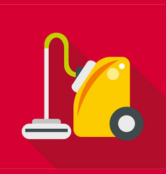 Vacuum cleaner icon flat style vector