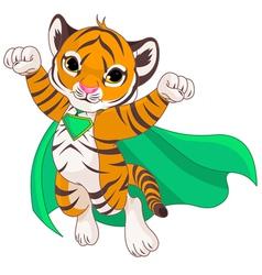 Super Tiger vector image vector image