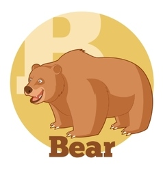 ABC Cartoon Bear2 vector image