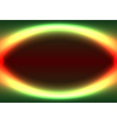 Abstract shiny ellipse frame vector