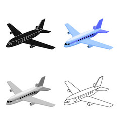 Aircraft for transportation of a large number of vector