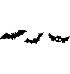 Bat icon on white background vector