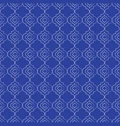 Beautiful hand drawn moroccan trellis seamless vector