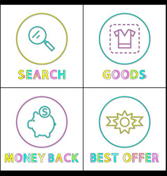 best offer clearance posters vector image