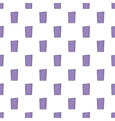 Blinds pattern cartoon style vector image