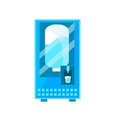 Clean Water Vending Machine Design vector