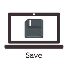 computer technology design vector image