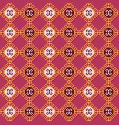 ethnic tribal pattern geometric design vector image