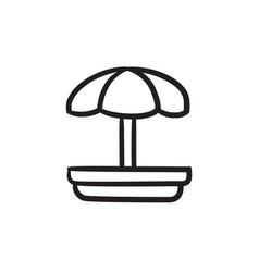 Playground sketch icon vector
