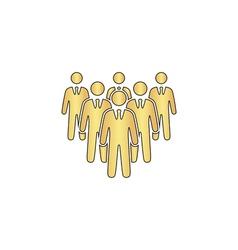 Team computer symbol vector