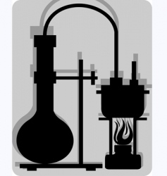 test tube vector image