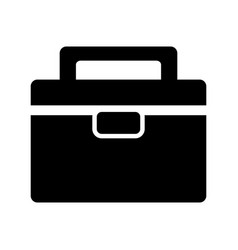 business suitcase icon image vector image