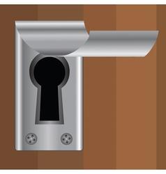 keyhole vector image