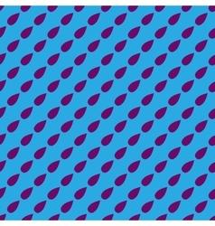 Drop geometric seamless pattern 6606 vector image