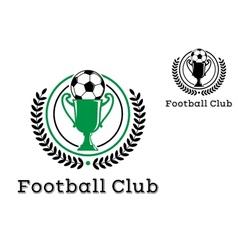 Football Club Championship crests vector image