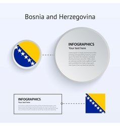 Bosnia and Herzegovina Country Set of Banners vector image