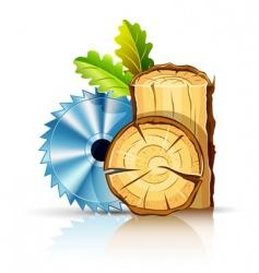 woodworking industry vector image