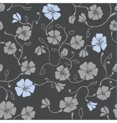 Renaissance Floral Seamless Pattern vector image vector image