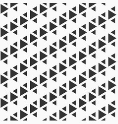 Abstract seamless pattern of triangles vector
