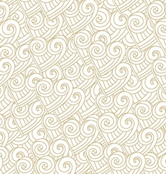 abstract white hearts seamless vector image