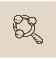 Barattle sketch icon vector